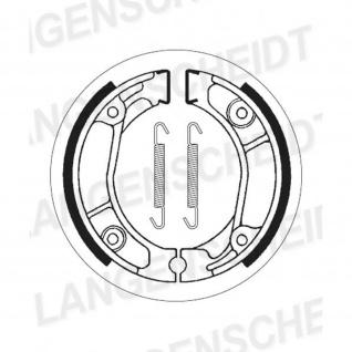 Bremsbacke SBS 2013 Maße: 110 x 25 Honda CR80 MT 50 MTX 50 80 125 200 XL 50 125 185 200 XR 80 XR 100