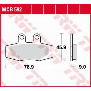 Mcb592 Bremsbelag Ktm 125 Mx 250 350 500 Exc 600 Lc4 88-91 - Vorschau
