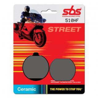 Bremsbelag SBS 510HF Street Ceramic