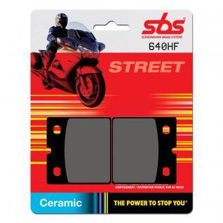 Bremsbelag SBS 640HF Street Ceramic