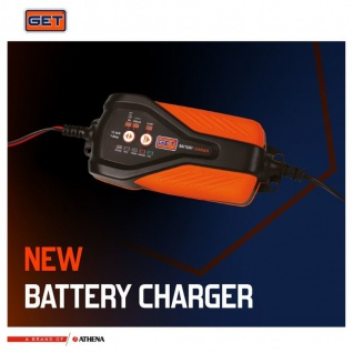 GET Automatic Lithium-PB Battery Charger and Mantainer Motorbike portable digital electronic charger