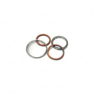 Exhaust Gasket / Auspuffdichtung Kawasaki KLR 650 C1-C10 95/10 OEM 110601108