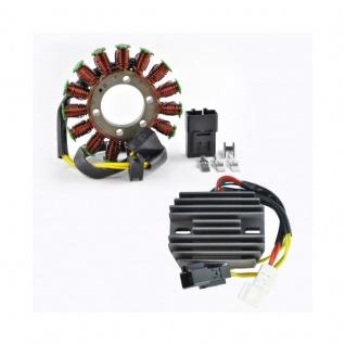 Kit Generator Stator Voltage Regulator Rectifier For Honda CBR600RR 07-12 OEM 31120-MFJ-D01 31600-MFJ-D01 - Vorschau 1