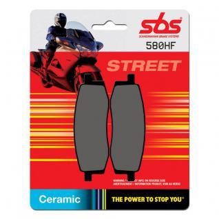 Bremsbelag SBS 580HF Street Ceramic