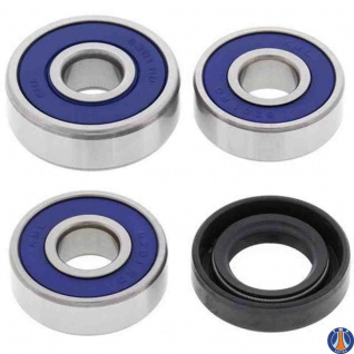 Wheel Bearing Kit Front Kawasaki KD80 88-90, KV75 71-80, Suzuki DR100 83-90, DR125 82-88, DR250 82-85, DR370 78-79, DR400 80, DR500 81-83, DS100 78-81, DS125 79-81, DS185 78-80, DS250 80, PE175 78-80, PE250 77-81, PE400 80-81, RM100 76-81, RM125 77-80, RM