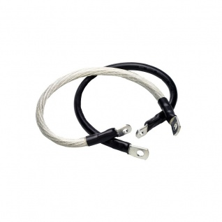 Clear, 2ea. 33 Battery Cable Harley FLHS Electra Glide Sport 89-93, FLHT Electra Glide 89-92, FLHT/P Police 90-92, FLHTC Electra Glide Classic 89-92, FLHTCU Ultra Clasic E-G 89-92, FLTC Tour Guide Classic 89-92, FLTCU Ultra Classic TG 89-92