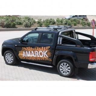 Dachrelinge VW Amarok Maxport ab Baujahr 2010 Aluminium in Chrom-Optik