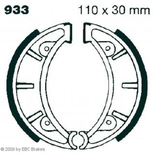 Premium Bremsbacken Water Grooved 933G für MONTESA / Honda
