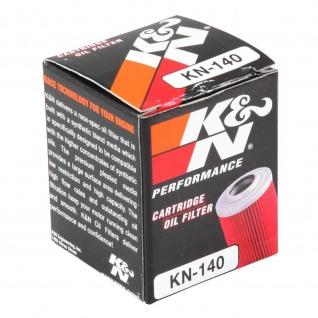 K&N Ölfilter KN-140 Fantic Gas Gas Husqvarna Yamaha 8000H4235 1S4-E3440-00 38B-E3440-00 5D3-13440-00