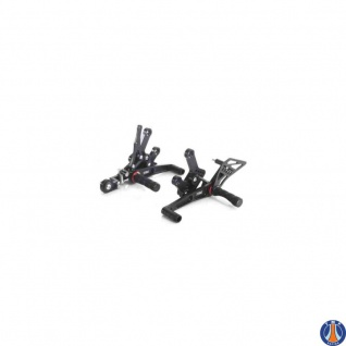MCF145SP (MCF145RAC) Fussrastenanlage mit klappbaren Fusshalterungen schwarz Suzuki GSF Bandit 600 650 1200 94-06