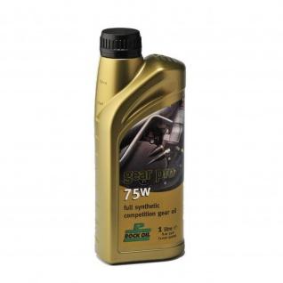 Rock Oil gear pro 75w ist ein synthetisches Hochleistungs-Getriebeöl für Trial-Wettbewerbsfahrzeuge