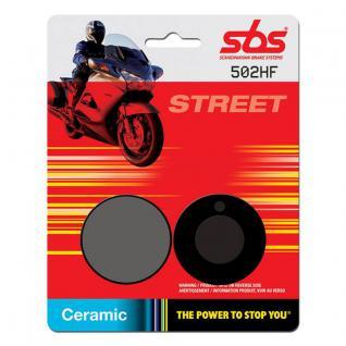 Bremsbelag SBS 502HF Street Ceramic