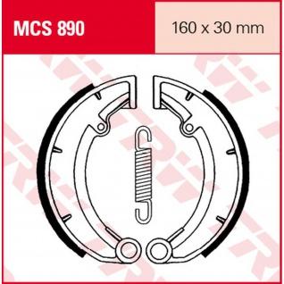MCS890 Bremsbacken 160x30 MZ MUZ TS ETZ Saxon Green Star R90 Red Star Saxon Country Fun Tout Silver Star 73-98