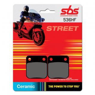 Bremsbelag SBS 536HF Street Ceramic