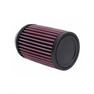 K&N Universalluftfilter - FlanschØ 62mm, zylindrische Gummikappe, Ø 89mm, Länge: 127mm, Flansch-Typ: mittig