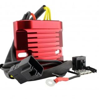 Red Machined Aluminum Mosfet Regulator for Honda CBR 600 VFR 800 CBR 900 929 RR 00-09 31600-MBW-D21