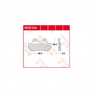 Mcb544 Bremsbelag Honda Helix 250 Nsr 400 Cx 500 Vf 650 Cx Gl 1000 Cbx 81 - 99 - Vorschau