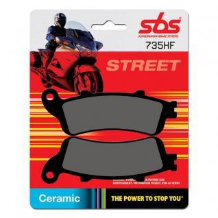 Bremsbelag SBS 735HF Street Ceramic