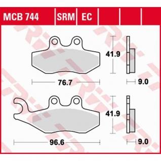 MCB744EC Bremsbelag Aprilia Derbi Gilera Piaggio Keeway Peugeot Vespa