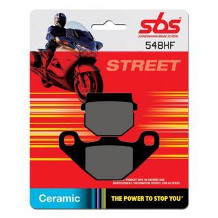 Bremsbelag SBS 548HF Street Ceramic