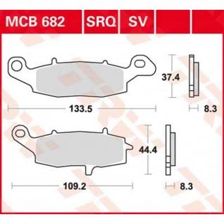 MCB682SRQ Bremsbelag Kawasaki Suzuki