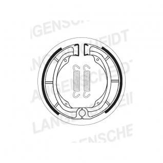 Bremsbacke Sbs 2016 Maße: 150 X 28 Kawasaki Kl 250 Suzuki Dr 400 500 Lt 160 Rm250 Rm 400 Sp370 Ts250 - Vorschau