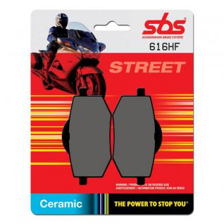 Bremsbelag SBS 616HF Street Ceramic