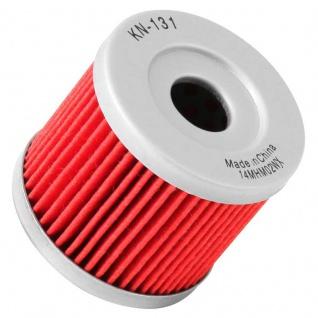 K&N Ölfilter KN-131 Suzuki HYOSUNG GT 250 OEM 1651005240 16510-45H10