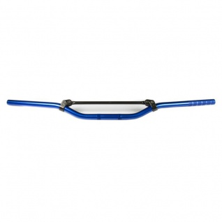 MCL153B Aluminiumlenker MC Offroad low niedrig 22 mm blau