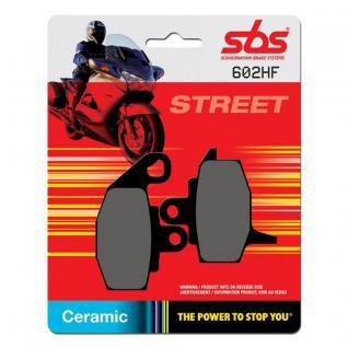 Bremsbelag SBS 602HF Street Ceramic