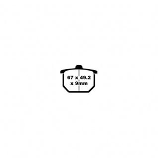 Blackstuff Bremse Organischer Belag Honda CB400 CB 750 CB 900 CBX 1000 CX 500 GL 1100 Goldwing 78-82