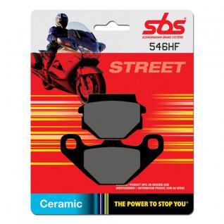 Bremsbelag SBS 546HF Street Ceramic