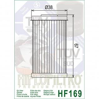 HF169 Ölfilter Daelim VJ125 Roadwin, VL125 Daystar, VS125 Evolution 06- OEM 15412-BA1-0000 15412-KN6-0096