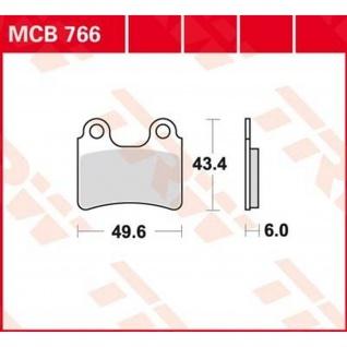 MCB766 Bremsbelag Gas Gas
