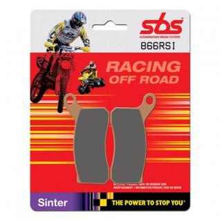 Bremsbelag SBS 866RSI Offroad Racing Sintermetall KTM ATV SX 450 SX 505 XC 450 XC 505