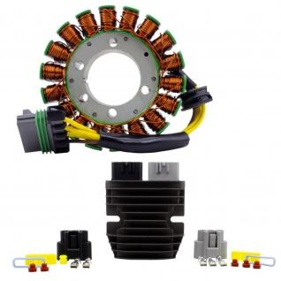 Stator Kit Stator + Mosfet Voltage Regulator for Polaris Ranger Ranger Crew RZR 4 RZR 800 11-17 4011982 4012941