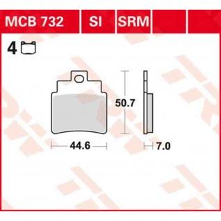 MCB732 Bremsbelag Kymco 300 Maxxer Supermoto SYM GTS Firenze Bolwell