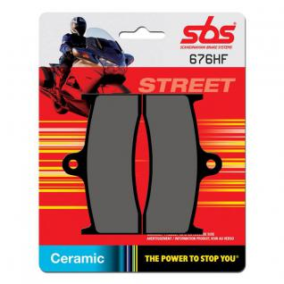 Bremsbelag SBS 676HF Street Ceramic