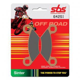 Bremsbelag SBS 642SI Offroad Sintermetall Polaris Outlaw Ranger Scrambler Sportsman Trail Boss Trail Blazer Xpedition