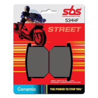 Bremsbelag SBS 534HF Street Ceramic