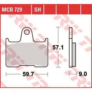 MCB729SH Bremsbelag Suzuki 600 GSX-R 650 GSF Bandit 750 GSX-R 1000 GSX-R