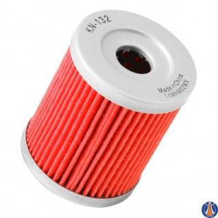 K&N Ölfilter KN-132 Artic Cat Kawasaki Suzuki Beta Sym Yamaha 3436-005 52010-S002 16510-19B00 16510-24501 5RU-13440-00 15400-L4A-000 - Vorschau 3
