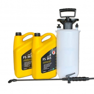Scottoiler FS 365 Protector 10 L (2 x 5 L ) und Drucksprüher 5 L Fassung