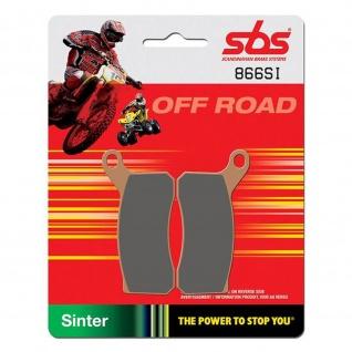 Bremsbelag SBS 866SI Offroad Sintermetall KTM ATV SX 450 SX 505 XC 450 XC 505