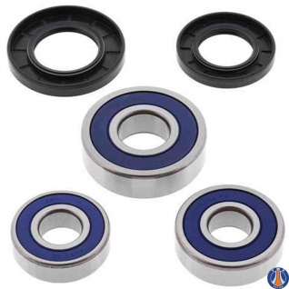 Wheel Bearing Kit Rear Aprilia EVT Caponord 01-07, Triumph Adventurer 900 96-01, America 02-08, America EFI 09-13, Daytona 1000 91-93, Daytona 750 91-93, Daytona 900 95-96, Daytona Super III 95, Legend TT 98-01, Speed Triple 900 94-96, Speedmaster 03-08,