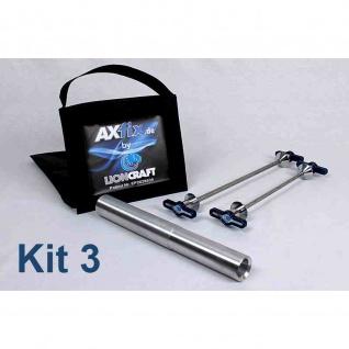 AXfix patentierte Transportlösung Motorrad Ducati Monster 1100/1200 Ducati 1098/1198/1199 Panigale 1100 Multistrada 1200 / 1260 Diavel