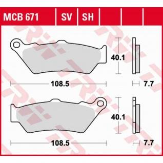 MCB671SV Bremsbelag Aprilia BMW Ducati Honda KTM Kawasaki MotoGuzzi MotoMorini Yamaha