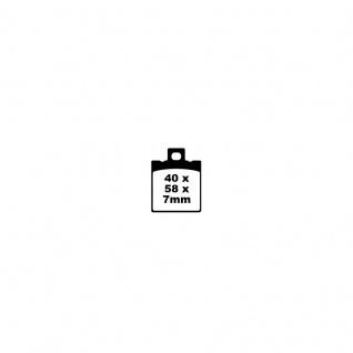 Blackstuff Bremse E11 90R-02A0207 Organischer Belag