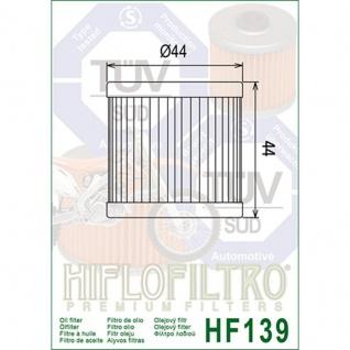 HF139 Oilfilter CCM Suzuki Artic Cat Kawasaki OEM 3470-008 52010-S004 16510-29F00 - Vorschau 2