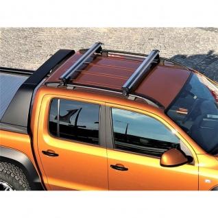 Dachträger Aero für VW Amarok Relingträger ab Baujahr 2010 aus Aluminium in chrom 125 cm